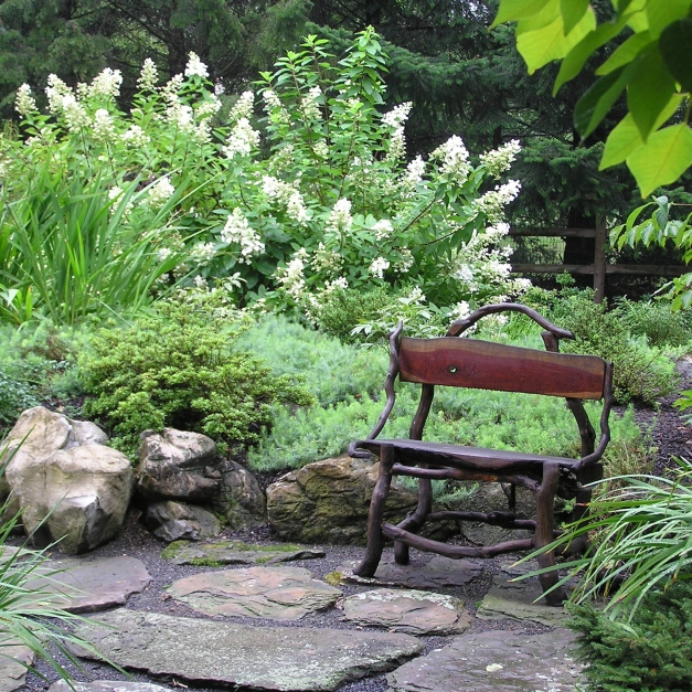 Joanne Kostecky Garden Design, Inc., Allentown, PA, Lehigh County, Landscape with texture and form, how to create a beautiful landscape, design elemenets used to create a landscape